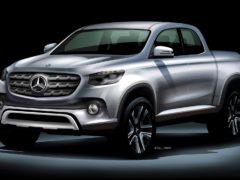 Mercedes-Benz GLT Pickup Truck